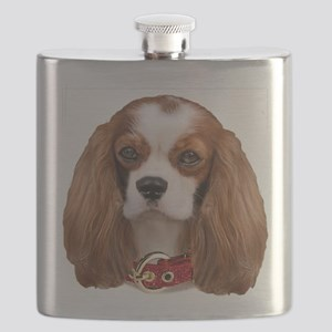 Cavalier King Charles Portrait Flask