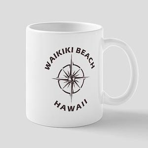 Hawaii - Waikiki Beach Mugs