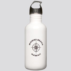 Hawaii - Waikiki Beach Stainless Water Bottle 1.0L