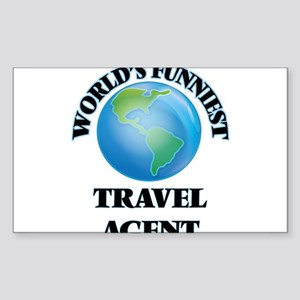 World's Funniest Travel Agent Sticker