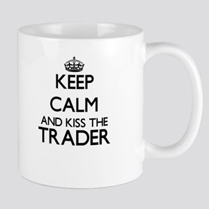 Keep calm and kiss the Trader Mugs