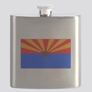 Arizona State Flag Flask