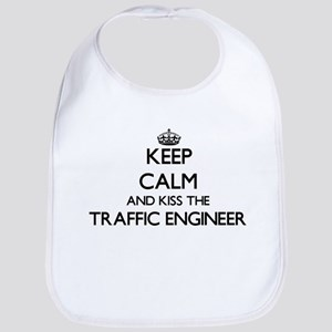 Keep calm and kiss the Traffic Engineer Bib