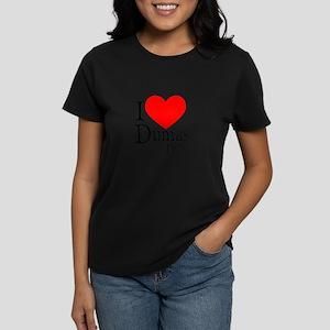 I Love Dumas Pere Women's Pastel T-Shirt