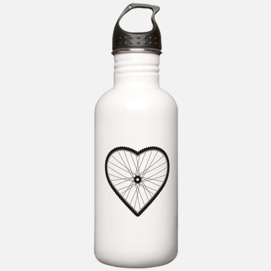 Love Mountain Biking Water Bottle