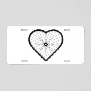 Love Mountain Biking Aluminum License Plate