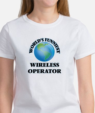 World's Funniest Wireless Operator T-Shirt