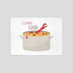Gumbo Good 5'x7'Area Rug