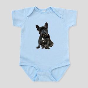 French Bulldog Puppy Portrait Infant Bodysuit