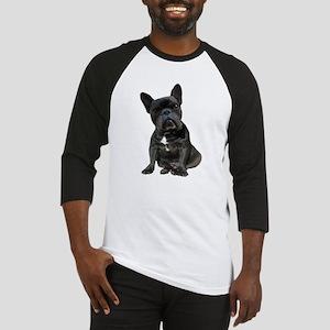 French Bulldog Puppy Portrait Baseball Jersey