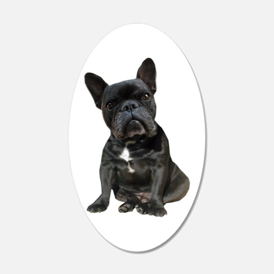 French Bulldog Puppy Portrai Wall Decal