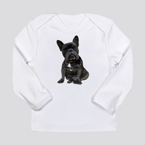 French Bulldog Puppy Po Long Sleeve Infant T-Shirt