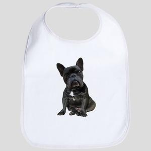 French Bulldog Puppy Portrait Bib