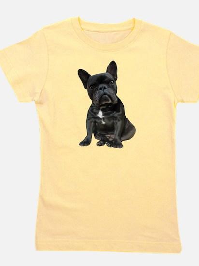 French Bulldog Puppy Portrait Girl's Tee