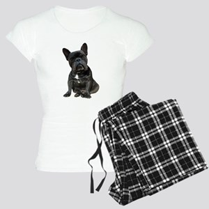 French Bulldog Puppy Portra Women's Light Pajamas