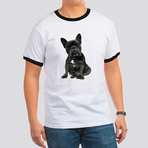 French Bulldog Puppy Portrait Ringer T