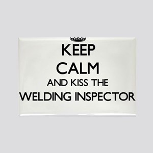 Keep calm and kiss the Welding Inspector Magnets