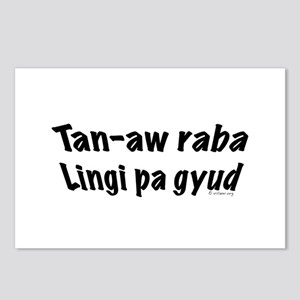 Tan-aw raba Postcards (Package of 8)