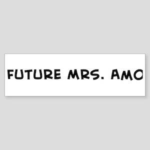 Future Mrs. Amo Bumper Sticker