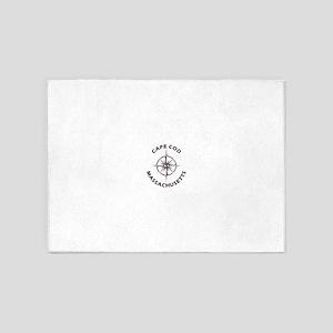 Massachusetts - Cape Cod National S 5'x7'Area Rug