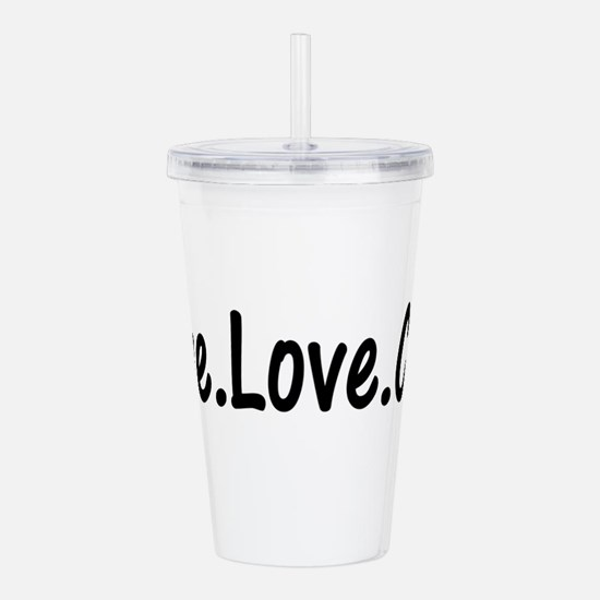 clog21.png Acrylic Double-wall Tumbler