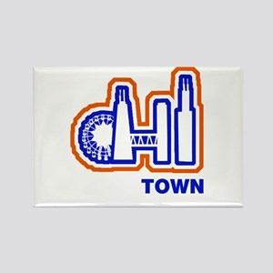 Chi Town Sports Teams Rectangle Magnet