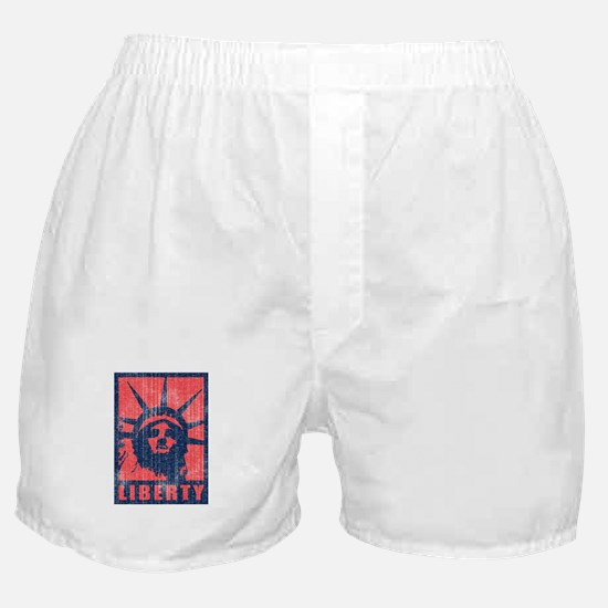 Liberty [Red&Blue] Boxer Shorts