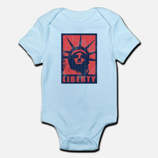 Liberty [Red&Blue] Infant Bodysuit
