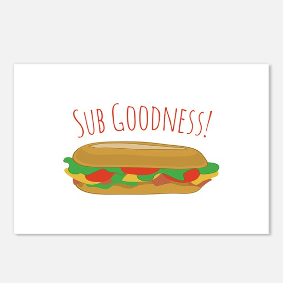 Sub Goodness Postcards (Package of 8)