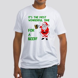 Wonderful time beer Fitted T-Shirt