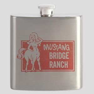 MUSTANG BRIDGE RANCH Flask