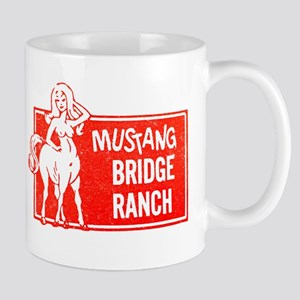 MUSTANG BRIDGE RANCH Mugs