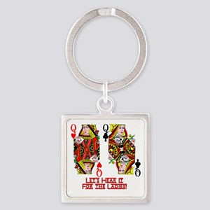 Let's Hear it for the Ladies Keychains