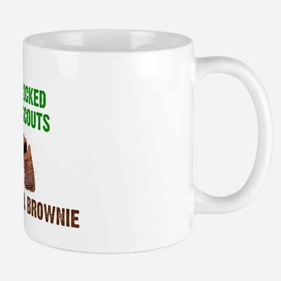 Kicked Out Of Scouts Mugs