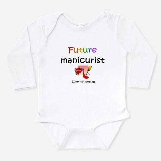 Cute Future mom Long Sleeve Infant Bodysuit