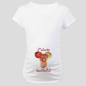 Future Botanist Maternity T-Shirt