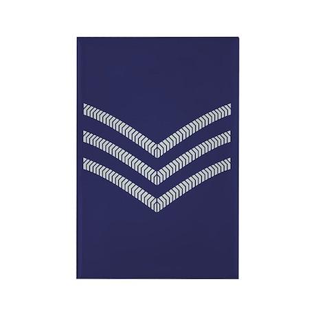 RAF Sergeant<BR> 10 Rectangle Magnets