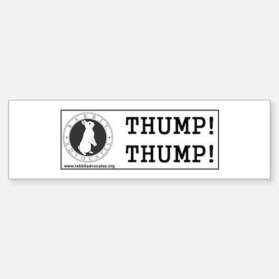 """Logo 10""""X3"""" Bumper Bumper Bumper Sticker"""