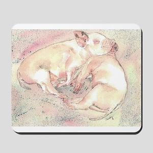 Piglets dreaming Mousepad