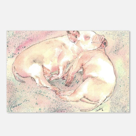 Piglets dreaming Postcards (Package of 8)