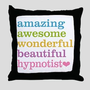 Awesome Hypnotist Throw Pillow