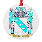 Hartin 2 Round Ornament