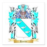 Hartin 2 Square Car Magnet 3