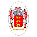 Hartin Sticker (Oval 10 pk)