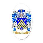 Hartford Oval Car Magnet