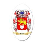 Harte 20x12 Oval Wall Decal