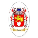 Hart Sticker (Oval 50 pk)