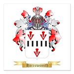 Harrowsmith Square Car Magnet 3