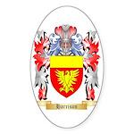 Harrison Sticker (Oval 10 pk)