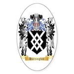 Harrington Sticker (Oval 50 pk)